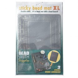 Large Beadsmith Sticky Bead Mat Double Sided 22x31cm XL
