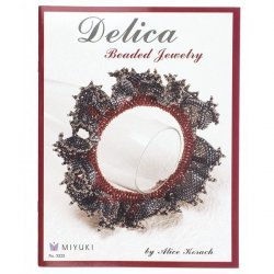 Delica Beaded Jewelry Book by Alice Korach
