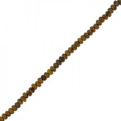 4mm Agate Abacus Beads Bamboo Leaf Faceted Semi-Precious