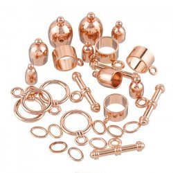 Kumihimo Bullet Finding Set Copper Plated Assorted Pack