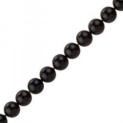 10mm Swarovski Crystal Pearls (5810) Mystic Black PK10