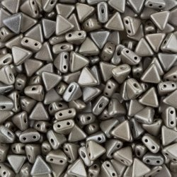 Kheops® Par Puca® 6mm Czech Bead Metallic Matt Beige 9g