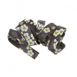 Liberty of London Bias Ribbon (10mm) Grey Print Mitsi D