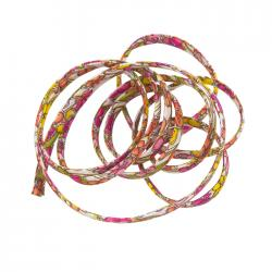 Liberty of London 4mm Pink/Yellow Cord Jennie & Steve A