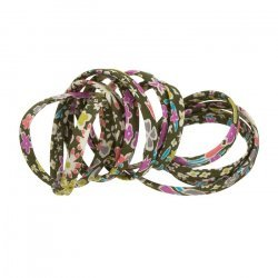 Liberty of London Moss Kayoko E (4mm) Ribbon Cord - 1m