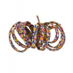 Liberty of London Pepper K Orange 4mm Ribbon Cord - 1m