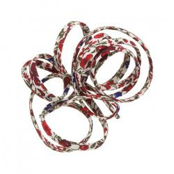 Liberty of London Red Helena's Meadow D Ribbon Cord 4mm