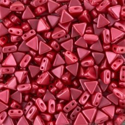 Czech Kheops® Par Puca® Beads Pastel Dark Rose (6mm) 9g