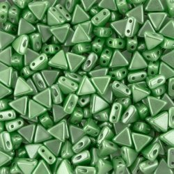 Czech Kheops® Par Puca® Beads Pastel Peridot (6mm) 9g