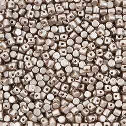 Minos® par Puca® Czech Beads Opaque Light Brown Coco 9g