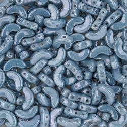 Arcos® par Puca® 10mm Opaque Blue Ceramic Look Beads 8g