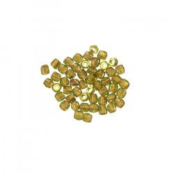 True2™ Fire Polished Beads 2mm Olive Copper Lined PK50