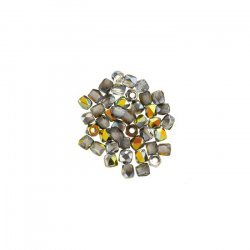 Czech True2™ Fire Polished Beads 2mm Crystal Marea PK50