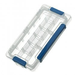 Clear Plastic Jewellery Bead Storage Container 23x12cm