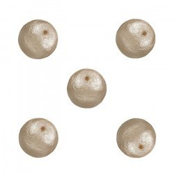 Miyuki Cotton Pearls Lightweight Round Beige Beads 8mm