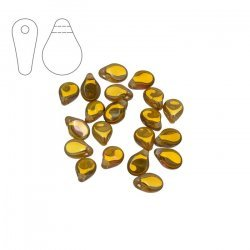 Preciosa Pip™ Crystal Venus Czech Glass Beads 7mm PK20