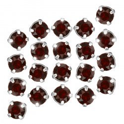 Swarovski Chaton Montees Crystal Siam F (3.90mm) - PK20