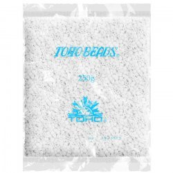 Toho Wholesale Size 3/0 Seed Beads Opaque White 250g