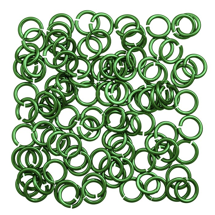 Coloured Aluminium Jump Rings Uk