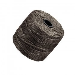 Beadsmith S-Lon Cocoa 0.9mm Tex 400 Cord 35 Yards (32m)