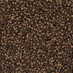 Toho 1.8mm Treasure Seed Beads 11/0 Frosted Bronze 7.8g