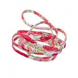 Liberty of London 4mm Ribbon Cord Betsy G Strawberry 1m