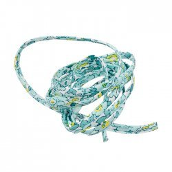 Liberty of London 4mm Ribbon Betsy Ann 'I' Mint & Lemon