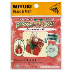 Miyuki Beaded Mascot Fan Kit | No.45 Christmas Present