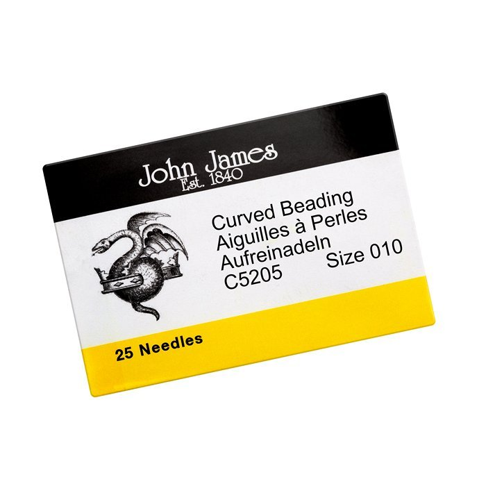 Twenty-Five Size 15 John James English Beading Needles