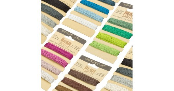 eco-friendly natural cord for jewellery making hemp cord UK 0.55mm Hemp cord /'dark colours/' for bead stringing or macrame knotting