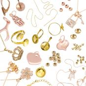 Our Competitively Priced And Quality Ensured Range Of Products Includes Various Gold Types Including 9ct Beads Vermeil