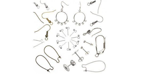 types of earring clasps. earring findings types of clasps