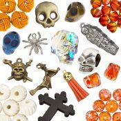 Halloween Beads and Findings