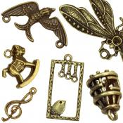 Gold Pendants & Charms