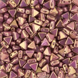 Kheops® Par Puca® Opaque Mix Violet/Gold Luster 6mm 9g